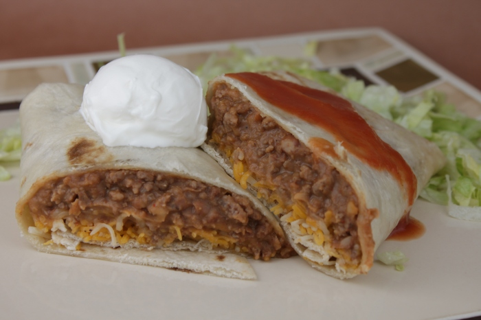 Beef and Bean Burritos | Mother's Apron Strings