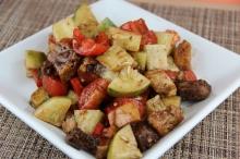 Mr. Food Tuscan Bread Salad