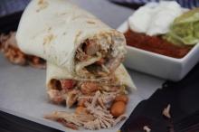 Tailgate Pork Burritos