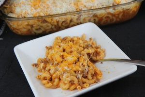 Cheesy Goulash Casserole